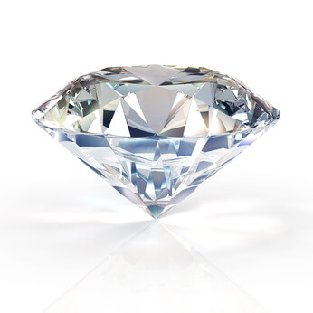 Ein wunderbarer glitzernder Diamant von Diamantenbestattung