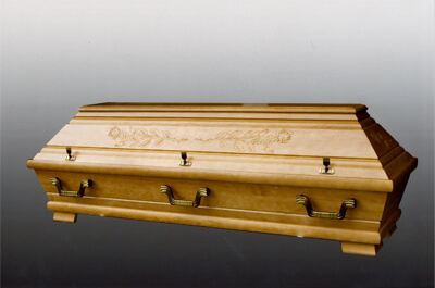 Sarg für Bestattungen aus Ingolstadt